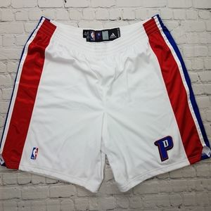 NBA Authentic Detroit Pistons Team Issued Shorts